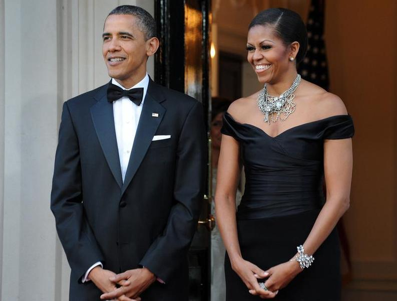 Forbes most powerful couples photo of USA president with his wife