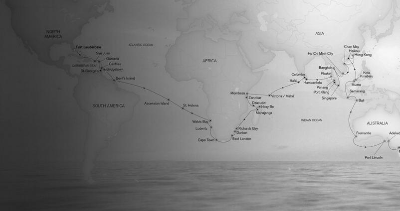 World Cruises 2015